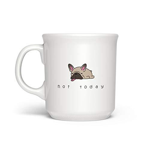 Genuine Fred SAY ANYTHING Not Today Mug, 16-Ounce, Multi-Colored
