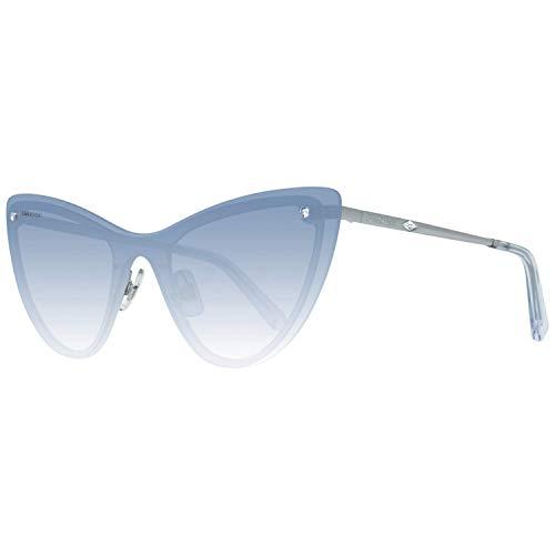 Swarovski SK0200-0084W Gafas, SHINY LIGHT BLUE/GRADIENT BLUE, 00/0/140 para Mujer