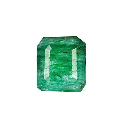 Esmeralda verde facetada natural de grado A, 3,75 ct, esmeralda verde