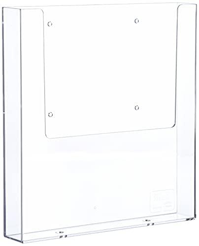 Helit H2350202 - Wandprospekthalter 'the help wall' 1/3 DIN A4, glasklar