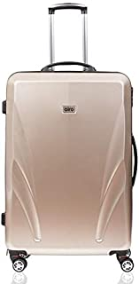 """Airo Smart Luggage Trolley Bag - 28"""" Emerald Gold with Inbuilt Weighing Scale."""