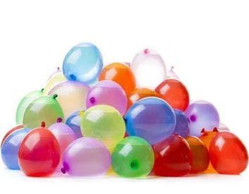 Splash Water Bomb Balloons - Over 200 Biodegradable Self-Sealing Multicoloured Water Balloons (Splash)