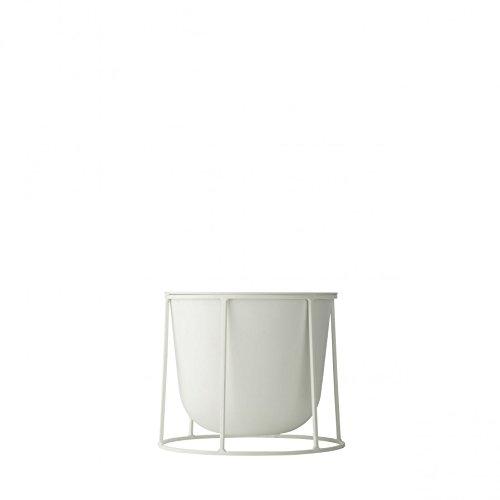 Rig Tig by Stelton Wire Pot Blumentopf ø 23 cm, h 20 cm - weiß