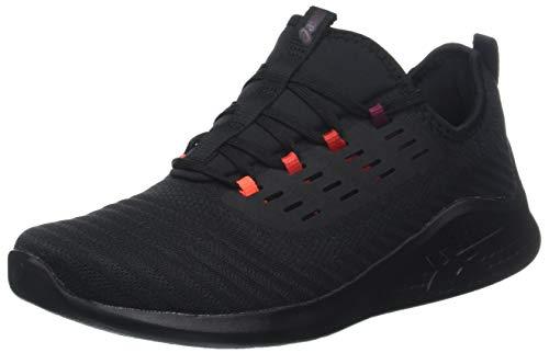 Asics Fuzetora Twist, Zapatillas de Running para Hombre, Negro (Black/Cordovan 001), 39.5 EU