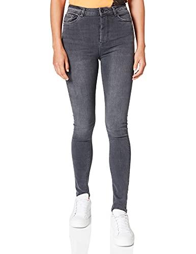 Springfield Jeans Sculpt High Rise Pantalones, Gris Oscuro, 38