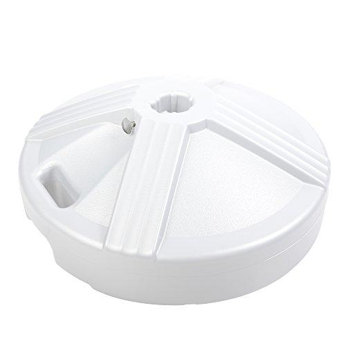 US Weight Fillable Umbrella Base, White