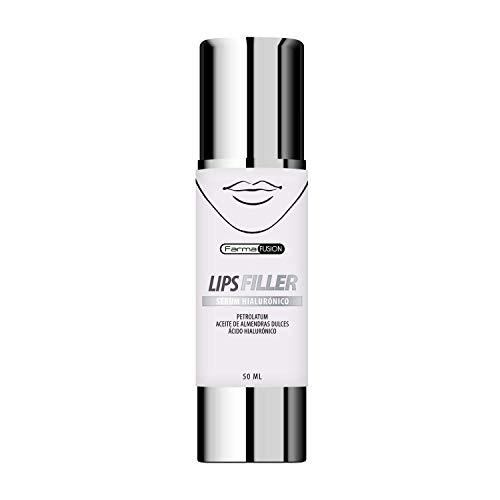 LIPS FILLER – Potente rellenador, hidratante y efecto anti-edad para los labios | Luce unos labios más carnosos y voluminosos | Con ácido hialuronico puro e ingredientes exclusivos – Formato Airless