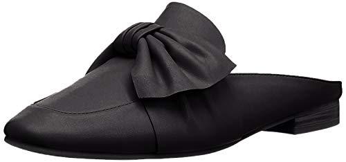 Indigo Rd. Womens Maggie Leather Square Toe Mules, Black, Size 9.0