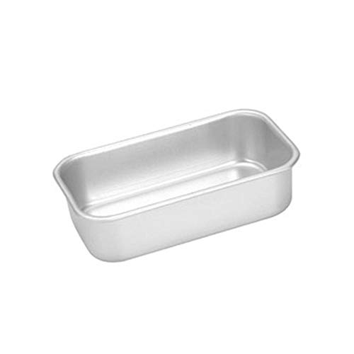 Baking Pan Aluminum Alloy Non-Stick Bread Cheese Cake Toast Mold Pan Kitchen Baking Tool-138X80X38Mm