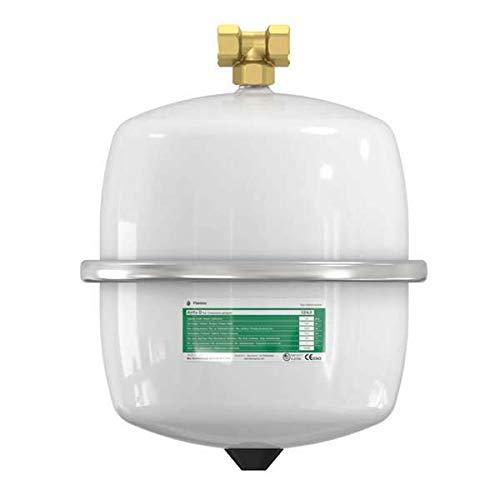 Flamco 14259 Ausdehnungsgefäß AIRFIX D 8 L, 4 bar, für Brauchwasseranlagen, weiß