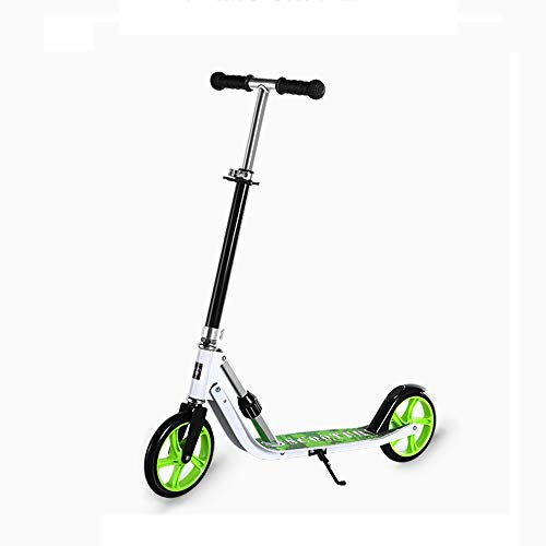 Sale!! NAN Youth Scooter / 2 Wheel Collapsible Scooter / 4 Speed Adjusting Height/Aluminum Footrest ...
