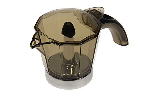 Delonghi Alicia Kaffeemaschine für 4 Tassen mit Deckel elektrische Espressomaschine EMK4