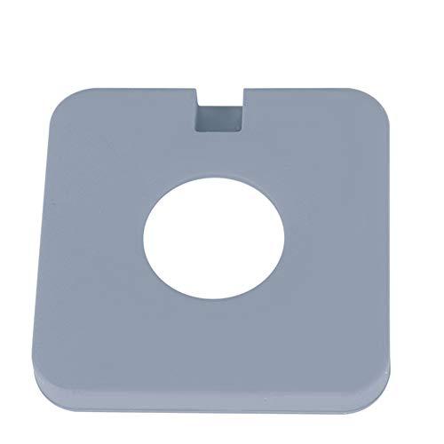 Base de silicona, cargador inalámbrico simple y hermoso Base de silicona para proteger el teléfono móvil y el cargador inalámbrico(grey)