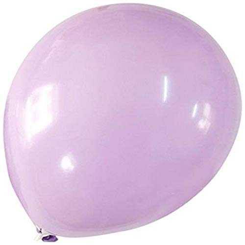 Homeford Premium Latex Balloons Plain Color, 12-Inch, Lavender, 12-Pack