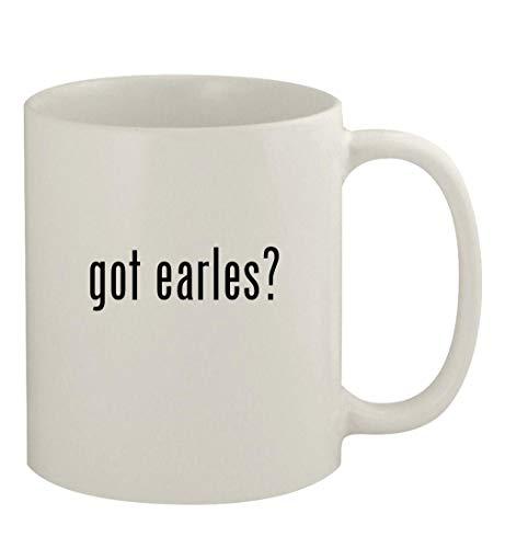 got earles? - 11oz Ceramic White Coffee Mug, White