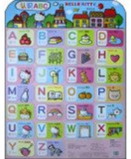 HELLO KITTY educational wall charts: Understanding ABC(Chinese Edition)