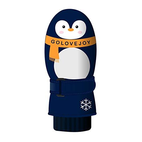 Gravere EIN Paar Kinder Skihandschuhe im Freien Winter Schnee wasserdicht Winddicht warm Doppelschicht Dicke Handschuhe für Kinder Agreeable