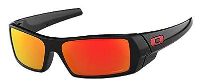 Oakley Gascan OO9014 901444 Polished Black/Prizm Ruby Sunglasses+Oakley Leash