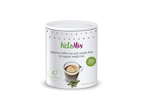 KetoMix Abnehmen Kaffee Grüner Kaffee 47 Portionen | Weight Loss Energy Drink, Lowcarb Fatburner Kaffeepulver | Schnell Abnehmen