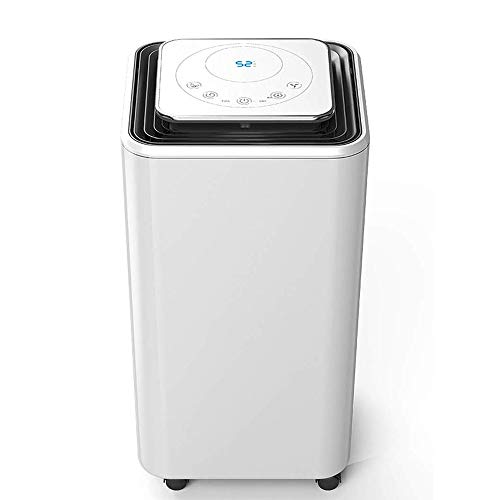 New CHENNAO Dehumidifier,Quiet,Portable with Wheels and Continuous Gravity Drain - Efficiently Remov...