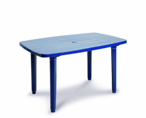 BEST 18511420 Tisch Festival oval 140 x 85 cm, blau