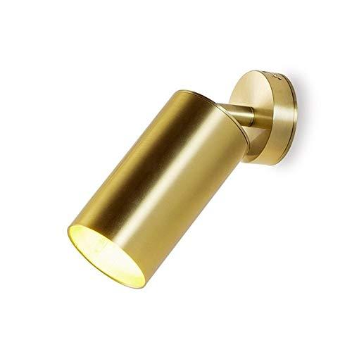 Yilong Nordic Superficie de Montaje Empotrado Techo Fondo Aseo de la lámpara de la Sala de Pared LED viruela Pasillo Oro Ajuste del Punto lámpara de Pared de la lámpara de Noche LED G10 5W