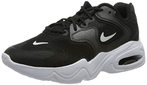Nike Wmns Air MAX 2X, Zapatillas para Correr Mujer, Negro Black White Black, 37.5 EU