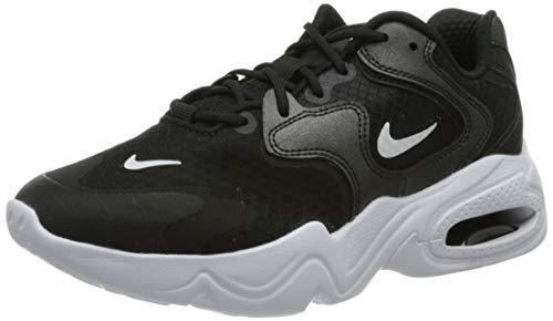 Nike Wmns Air Max 2X, Scarpe da Corsa Donna, Black/White-Black, 36 EU