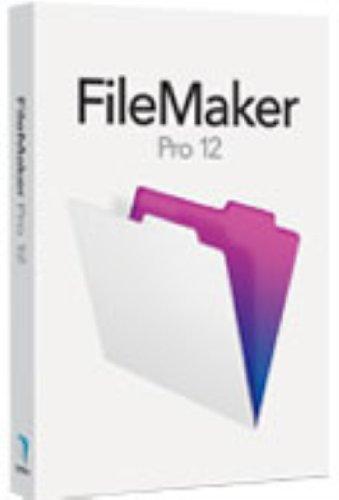 Vollversion FileMaker PRO version12/ MAC / WIN / englisch / CD [import allemand]