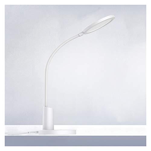 LED- Lámpara Escritorio Lámpara de escritorio, luz de escritorio LED con 3 modos de iluminación y control regulable, táctil, tiempo automático, lámpara de estudio flexible para dormitorio universitari
