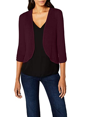 Street One Damen 312067  Strickjacke, Violett (Mystique Berry 11422), 40