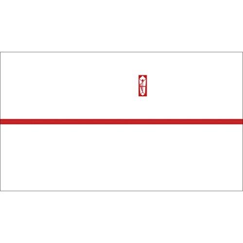 ササガワ OA対応のし紙 熨斗紙 豆判8号 赤棒 京 2-678 1セット 1000枚:100枚×10冊