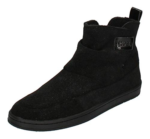 Hub Footwear Damen - Booties Serve S37 Glitter - Black, Größe:37 EU