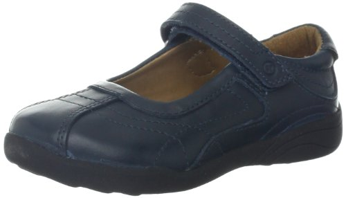 Stride Rite Claire Mary Jane (Toddler/Little Kid/Big Kid),Navy,5 M US Big Kid
