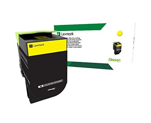 Lexmark 71B0H40 CS417dn CX417de CS517de CX517de Yellow High Yield Cartridge Toner