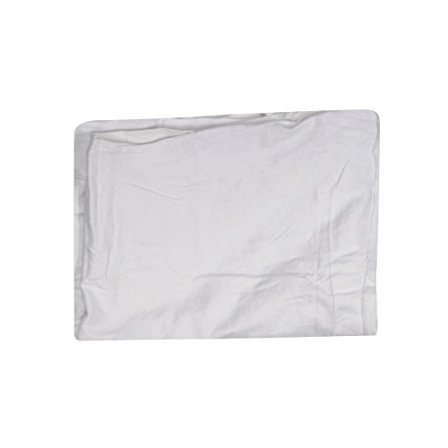 Trimaco 10811 Supertuff Multi-Purpose T-Shirt Knit Painters Rag, 8-Ounce, White