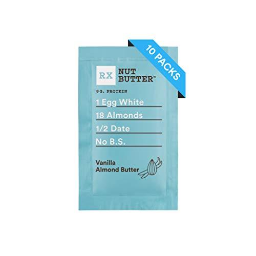 RX Nut Butter, Vanilla Almond Butter, 1.13 Ounce (Pack of 10)