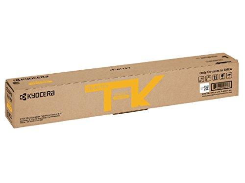 Kyocera TK-8115Y Cartucho de tóner Amarillo 1T02P3ANL0 para ECOSYS M8124cidn, ECOSYS M8130cidn 🔥