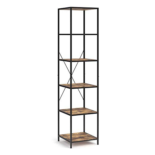 Vicco Loft Standregal Fyrk Bücherregal Wandregal Regal 174x40x40cm Vintage