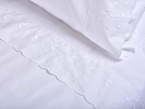 Mijn huis Wit F.NORDICA 331049 260 x 220 Percale, Bed 160 – 180
