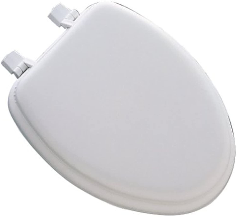 Mayfair 113EC000 White Elongated Deluxe Soft Toilet Seat