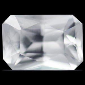 GemsNY 1.06 Carat online shop Natural Cut Emerald White NEW Sapphire