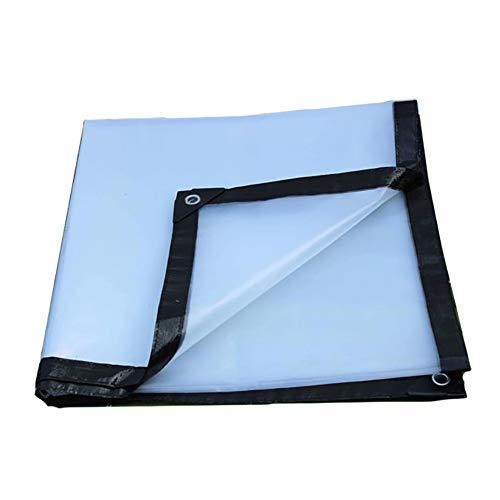 LIUPENGWEI Duidelijke Dekzeil Waterdichte Heavy Duty Covering The Rain Plastic Film Doek Anti-aging Isolatie Polyethyleen, Dikte 0,13 Mm, (125 G / M2 (± 10), Dikte: 0.12mm) Tent zeildoekzak