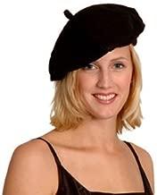 Damen Mütze Kunstleder Baskenmütze Barett Beret Cap Hut Franzosenmütze Mode 2019