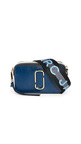 Marc Jacobs Borsa a Tracolla The Snapshot in Pelle Donna cod.M0014146 New blue - multicolor SIZE:UNI