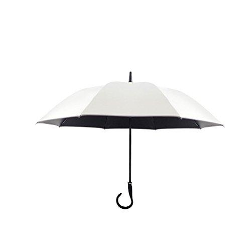XiuHUa Automatische Anti-Taiwan Storm Paraplu Reflector Rechte Paraplu Vinyl Super Zon UV Bescherming Paraplu stand