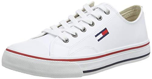 Tommy Hilfiger Damen Virginia 5a Sneaker, Beige (White YBS), 40 EU