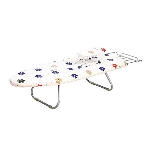 Bügelbrett Schlafzimmer, Desktop verlängern Metallnähdruck Tischplatte, geeignet zum Bügeln von Hemden, (Farbe: B, Größe: 90 * 31 * 19CM)