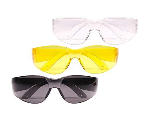 Lyman Shooting Glasses 3 Pack, Anit-Fog, Hig Impact Resistant, UV Protection, for Men & Women