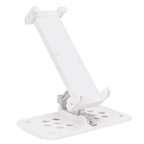 SALUTUYA 360 ° Giratorio, no es fácil de deformar, Montaje Libre del Soporte de Montaje RC, para teléfonos Inteligentes, tabletas de 10,5 Pulgadas, Accesorio práctico para RC(White)